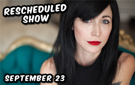 Cindy Kaza Rescheduled! 9/23