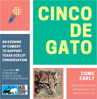 Cinco de Gato: AAZK Benefit