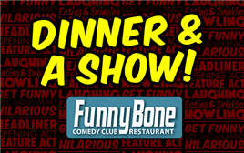 Ralphie May Dinner Package