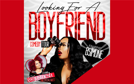 B Simone's Looking for a Boyfriend Comedy Tour